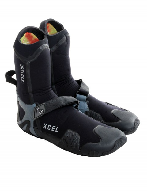 Xcel Drylock Round Toe 7mm Wetsuit Boots - Black/Grey