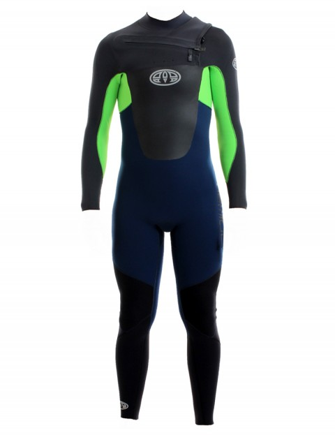 Animal Lava Chest Zip 5/4/3mm Wetsuit 2017 - Total Eclipse Navy