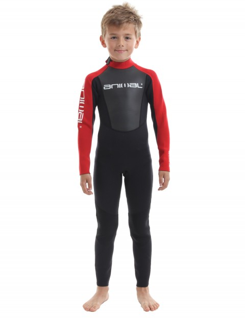 Animal Boys Nova 3/2mm wetsuit 2017 - Bright Red