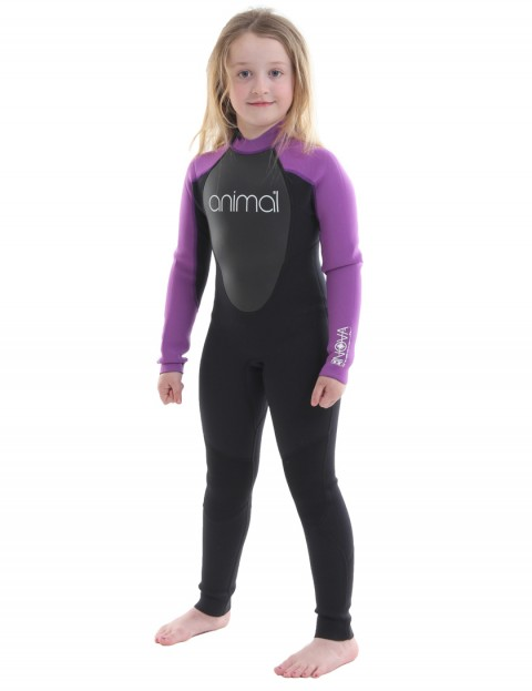Animal Girls Nova 3/2mm wetsuit 2017 - Iris Purple