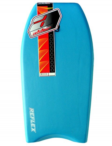 Alder Reflex Bodyboard 42 inch - Light Blue/Red Hex