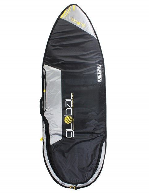 Global System 10 Hybrid surfboard bag 10mm 6ft 6 - Black