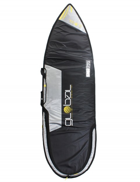 Global System 10 Shortboard surfboard travel bag 10mm 6ft 6 - Black