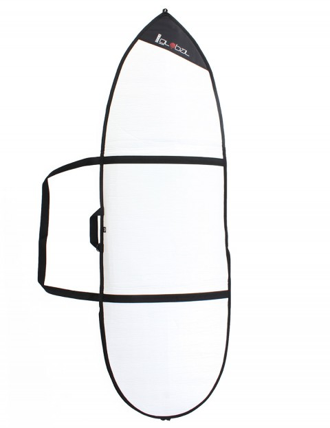 Global Day Hybrid 3mm surfboard bag 6ft 6 - White