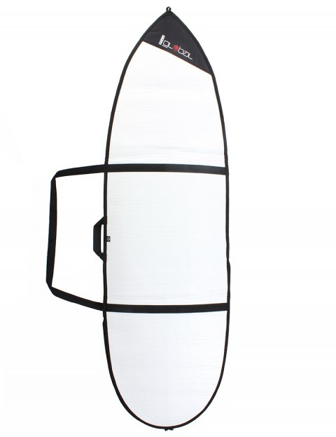 Global Day Shortboard 3mm surfboard bag 6ft 6 - White