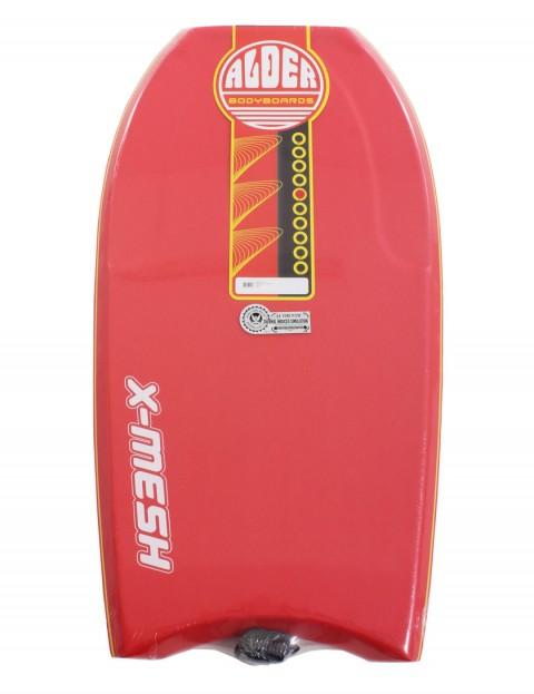 Alder X-Mesh Bodyboard 42 inch - Red