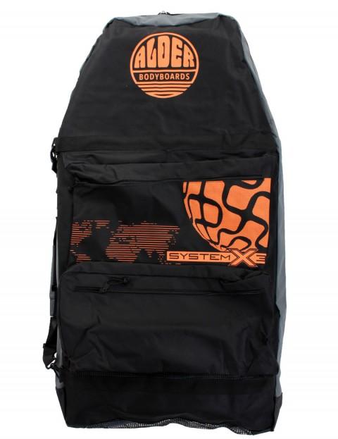 Alder System X3 44 inch Three Board Bodyboard bag - Black/Orange