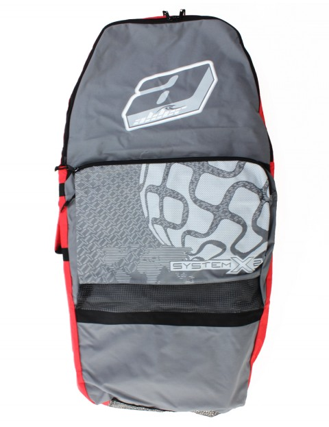 Alder System X2 44 inch Bodyboard Bag - Grey/Red