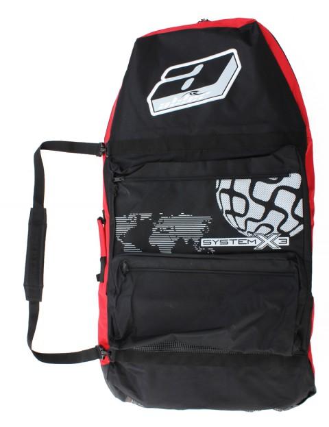 Alder System X3 44 inch Bodyboard Bag - Black/Red