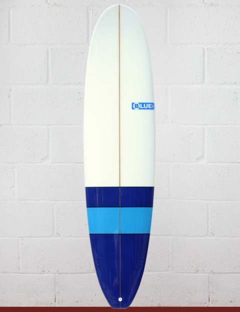 Blue Dot Mini Mal Surfboard 7ft 6 - Blues