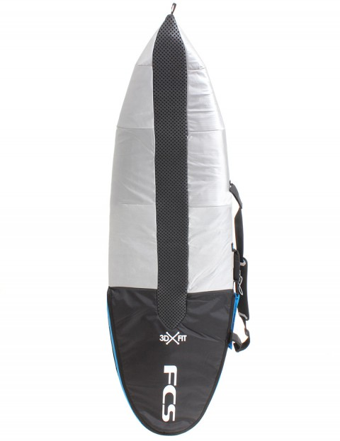 FCS Hybrid 3DxFit Dayrunner 5mm Surfboard Bag 5ft 9 - Black
