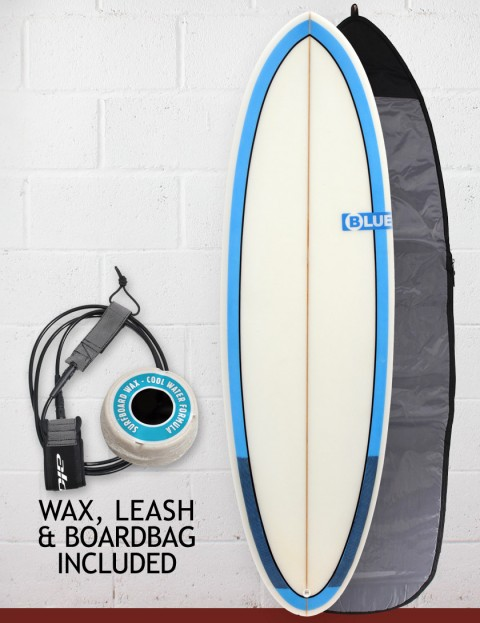 Blue Dot Cat Package Surfboard 5ft 11 - Blue Rails