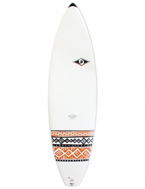 Bic DURA-TEC Shortboard surfboard 6ft 7 - Orange