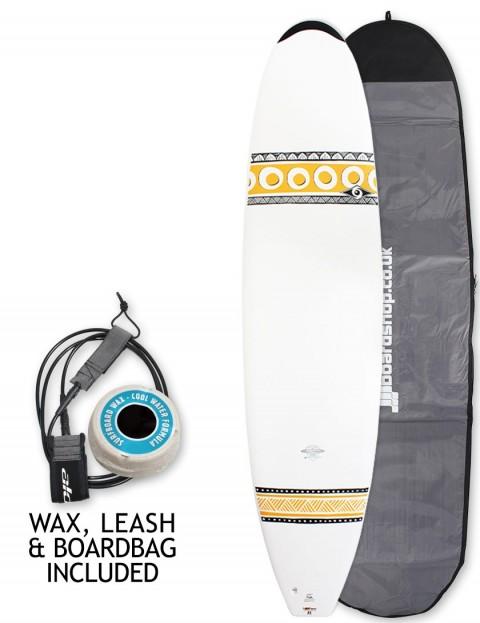 Bic Mini Mal surfboard 7ft 9 package - Tangerine