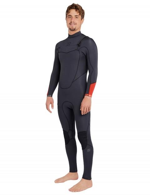 Billabong Absolute Comp Chest Zip 4/3mm Wetsuit 2018 - Asphalt