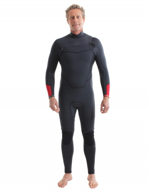 Billabong Absolute Comp Chest Zip 5/4mm Wetsuit 2018 - Asphalt