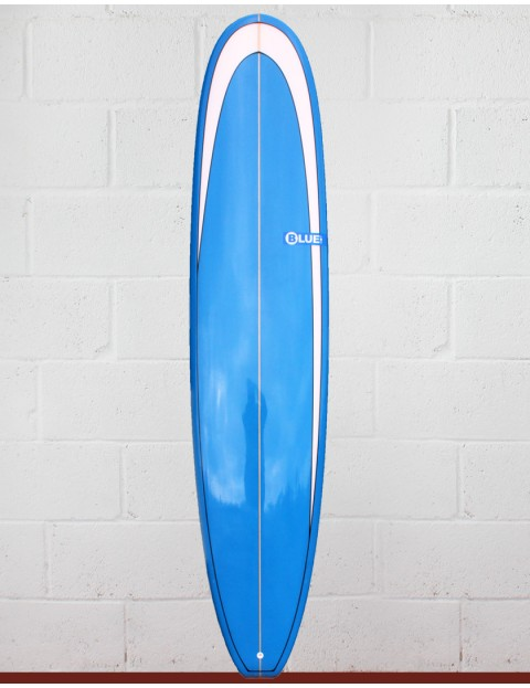 Blue Dot Mal Surfboard 9ft 0 - Blue