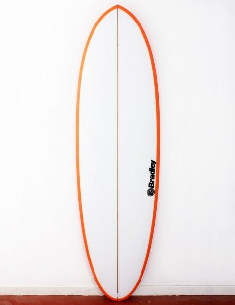 Bradley Mr Bean surfboard 6ft 6 FCS II - Orange