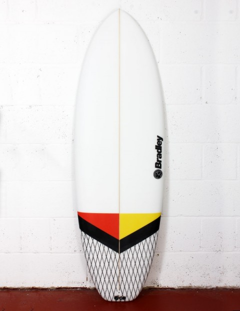 Bradley New Barcelona surfboard 5ft 6 FCS II - White