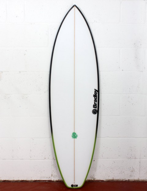Bradley The Thing surfboard 6ft 2 FCS II - White