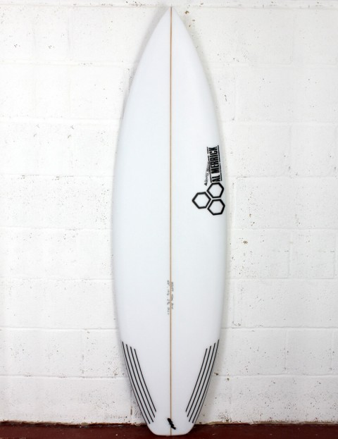 Channel Islands Black and White Surfboard 6ft 4 Futures - White
