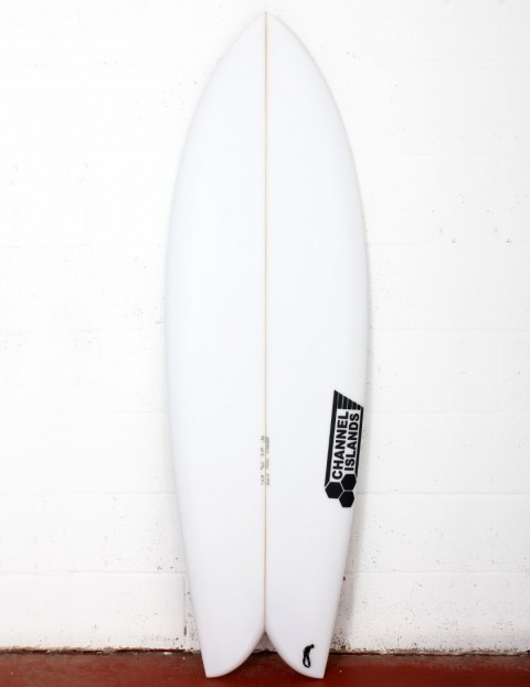 Channel Islands Fish surfboard 5ft 8 Futures - White