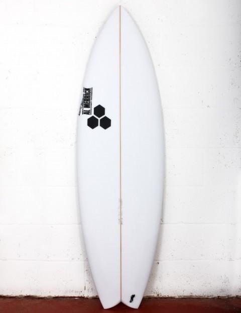 Channel Islands Rocket Wide surfboard 5ft 8 FCS II - White