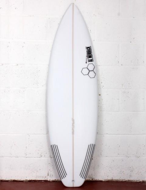 Channel Islands Sampler surfboard 5ft 10 Futures - White