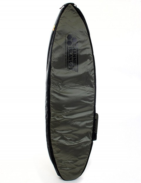 Channel Islands CX2 Travel Light Coffin Double surfboard bag 10mm 6ft 0 - Army Green