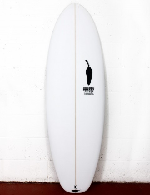 Chilli Pretty Sweet surfboard 6ft 2 FCS II - White
