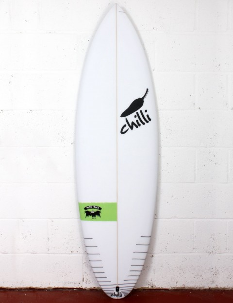 Chilli Rarebird surfboard 5ft 10 FCS II - Green