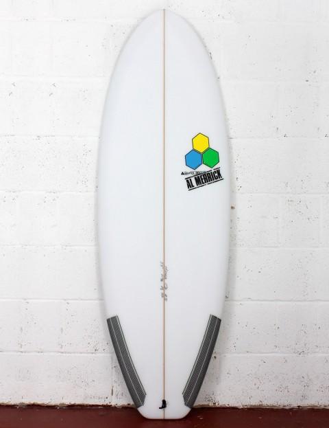 Channel Islands Average Joe Surfboard 5ft 7 FCS II - White
