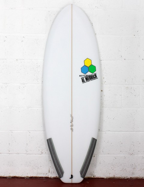 Channel Islands Average Joe Surfboard Futures 5ft 3 - White