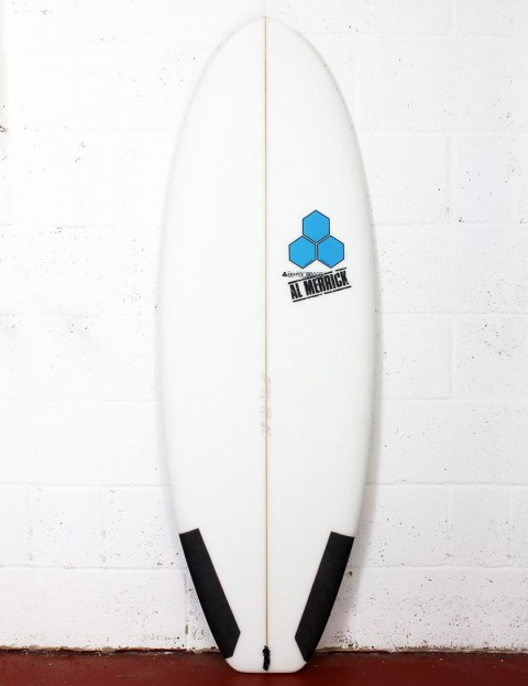 Channel Islands Average Joe Surfboard 5ft 5 Futures - White