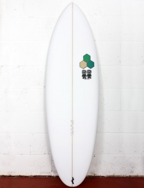 Channel Islands Biscuit Bonzer surfboard 6ft 0 - White