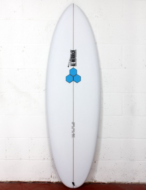 Channel Islands Biscuit Surfboard 5ft 8 FCS II - White