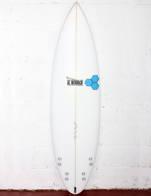 Channel Islands Fred Rubble Surfboard 6ft 0 FCS - White