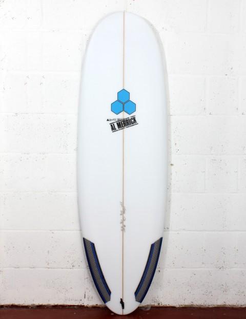 Channel Islands Hoglet Surfboard 5ft 11 Futures - White