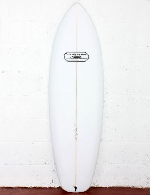 Channel Islands Mini Surfboard 5ft 5 FCS II - White