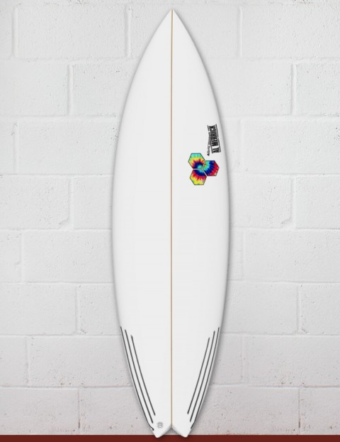 Channel Islands Rocket 9 surfboard 5ft 11 Futures - White