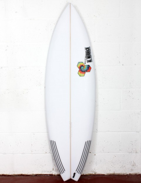 Channel Islands Rocket 9 surfboard 5ft 8 FCS II - White