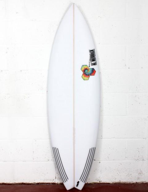 Channel Islands Rocket 9 surfboard 5ft 10 FCS II - White