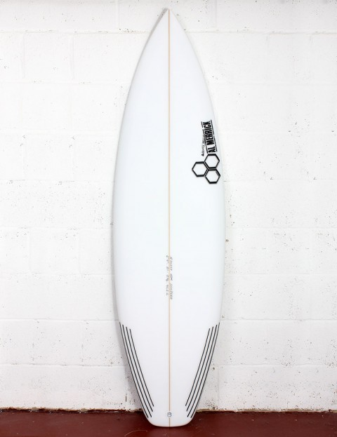 Channel Islands Sampler surfboard 5ft 10 FCS II - White