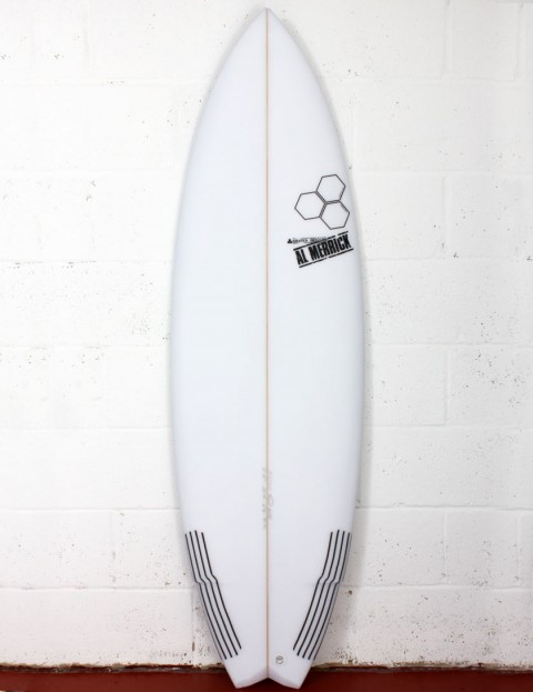 Channel Islands Weirdo Ripper Surfboard 5ft 10 FCS II - White
