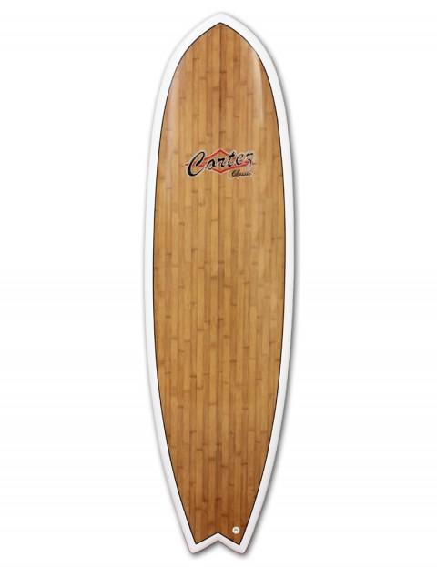 Cortez Fish Veneer surfboard 6ft 6 - Bamboo