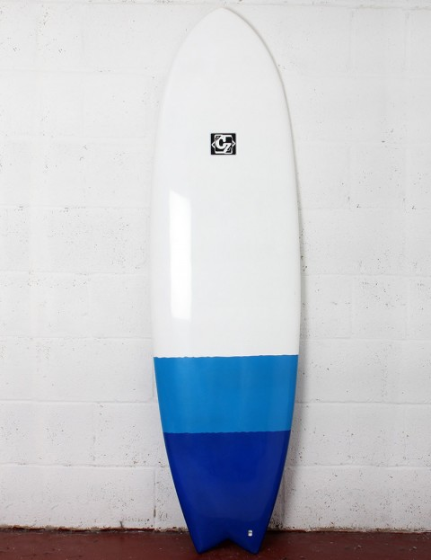Cortez Fish surfboard 6ft 0 - Blue Dip