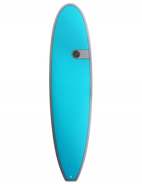 Cortez Funboard Surfboard 7ft 4 - Teal