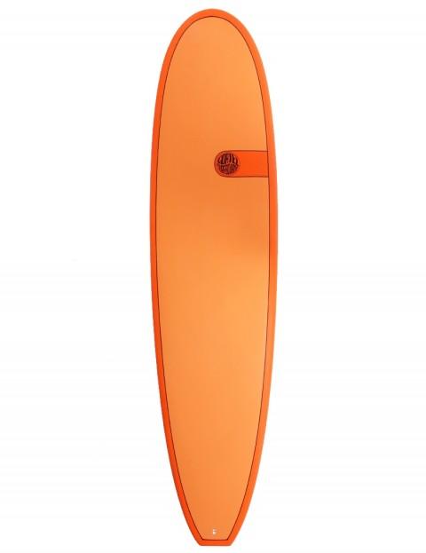 Cortez Funboard Surfboard 7ft 4 - Hot Orange