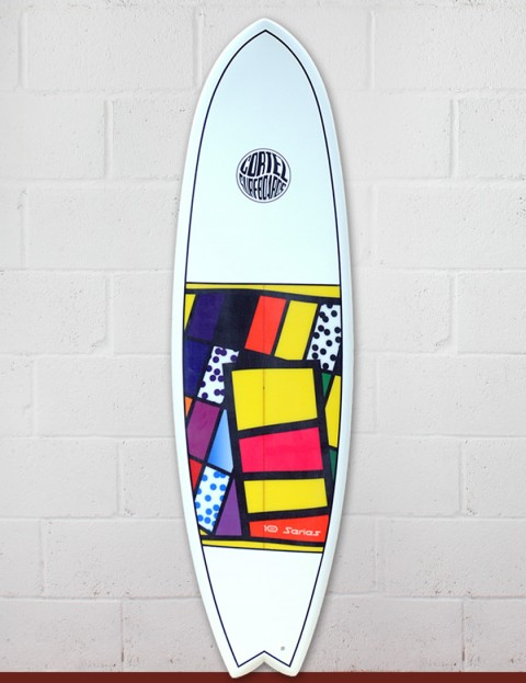 Cortez Fish surfboard 6ft 3 - 10 Series Sanded
