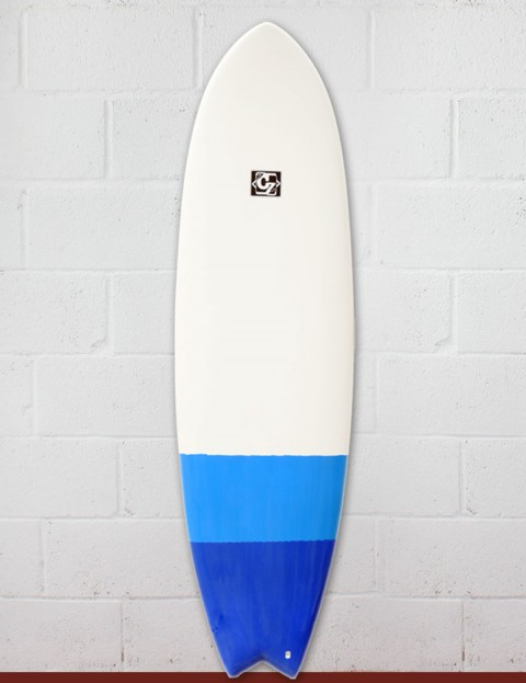 Cortez Fish surfboard 6ft 6 - Blue Dip